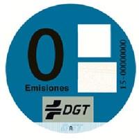 Pegatina 0 Emisiones