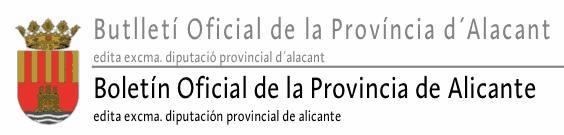 Boletín Oficial de la Provincia de Alicante
